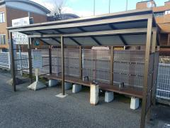 「本巣市役所」バス停留所