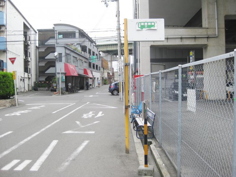 「出来島駅前」バス停留所