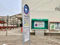 「吉川団地」バス停留所