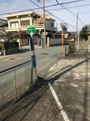 「論出口」バス停留所