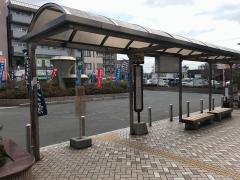 「忍ケ丘駅」バス停留所