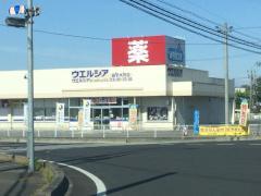 ウエルシア 益子大沢店