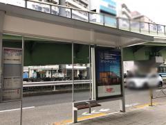 「大森警察署前」バス停留所