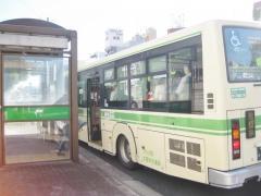 「永楽橋筋」バス停留所