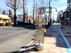「常銀前(勝田)」バス停留所