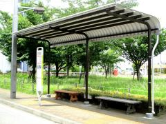 「国立泉団地」バス停留所