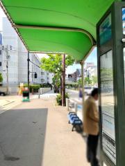 「川口一丁目」バス停留所