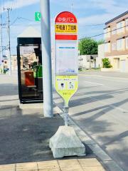 「平和通1丁目南」バス停留所