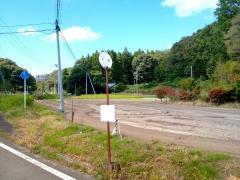 「干泥」バス停留所
