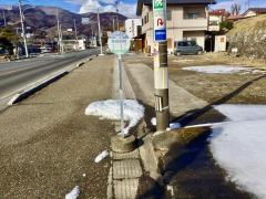 「敷島駅前」バス停留所
