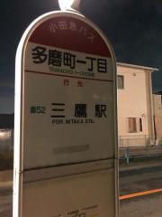 「多磨町一丁目」バス停留所