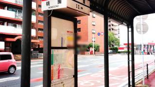 「桃園」バス停留所