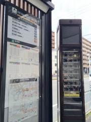 「西大路七条」バス停留所