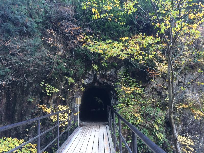 トンネルです。
