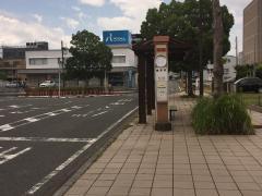 「磯原駅前」バス停留所