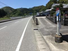 「西門川」バス停留所