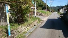 「伊賀和志上」バス停留所
