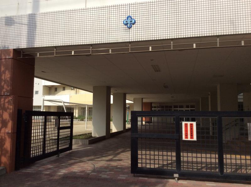 千寿桜堤中学校ですね