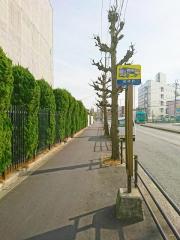 「若林町」バス停留所
