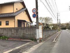 「足崎サングリーン」バス停留所