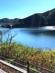 阿木川ダム湖
