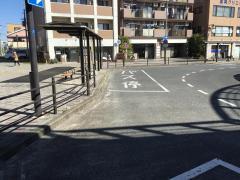 「東海大学前駅南口」バス停留所