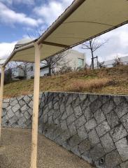 「とどろみの森学園前」バス停留所