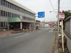 「大淀病院前」バス停留所