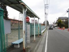 「高原住宅前」バス停留所