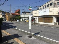 「住宅通」バス停留所