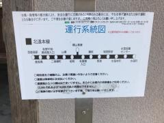 「横山車庫」バス停留所