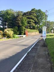 「本境」バス停留所