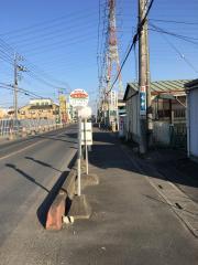 「小松川入口」バス停留所