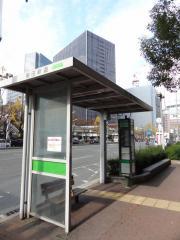 「梅田新道」バス停留所