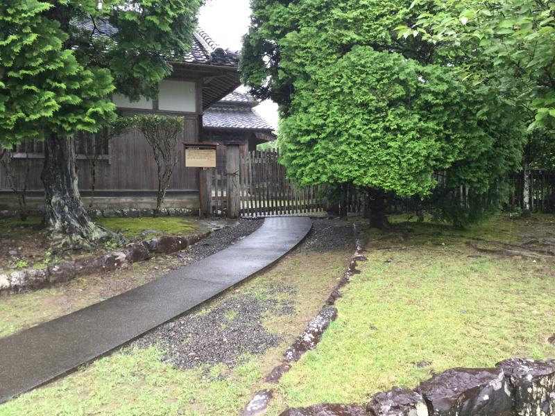 後藤氏の旧家