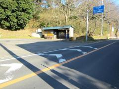 「市営霊園(市川)」バス停留所