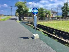 「竜神」バス停留所
