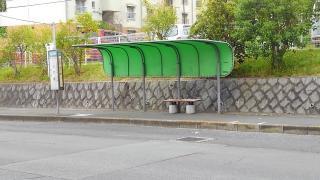 「しで原」バス停留所