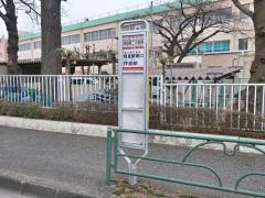 「拝島第二小学校」バス停留所