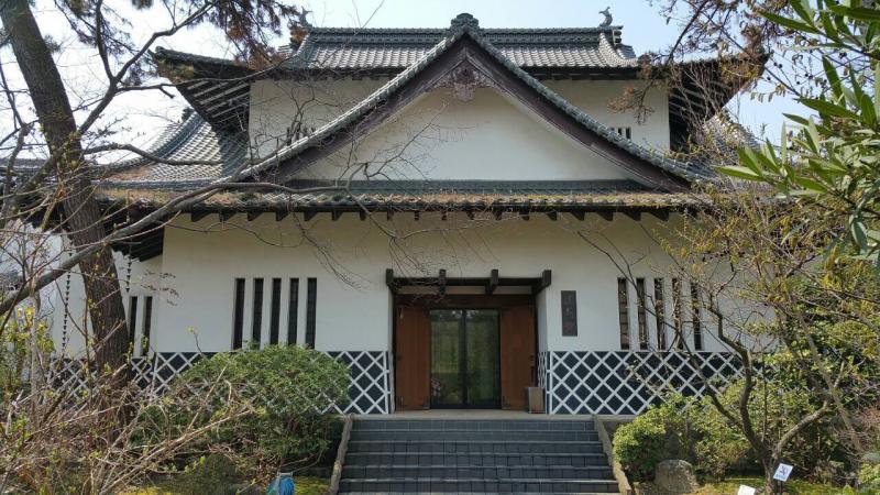 アジア博物館井上靖記念館外観
