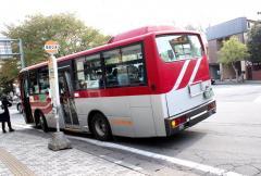 「旧軽井沢」バス停留所