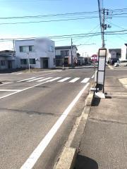 「上町口」バス停留所