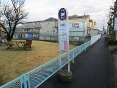 「神明橋北」バス停留所