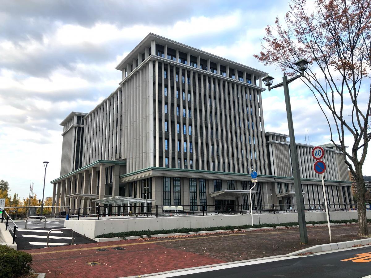 呉市役所の外観です