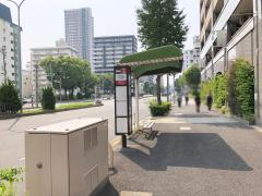 「大池町」バス停留所