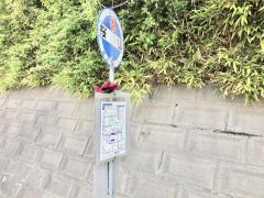 「桜山(旧道)」バス停留所