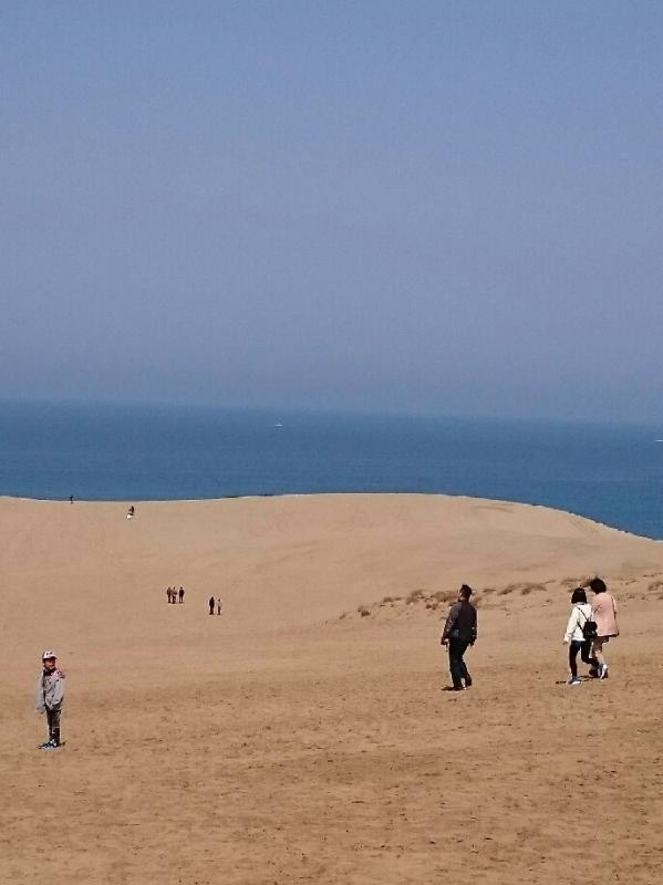 広〜い鳥取砂丘