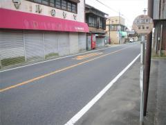 「水道町」バス停留所