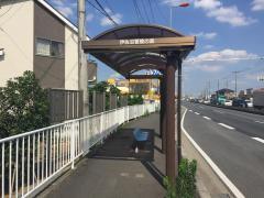 「伊佐沼冒険の森」バス停留所