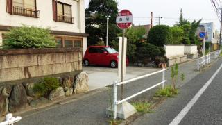 「西境」バス停留所